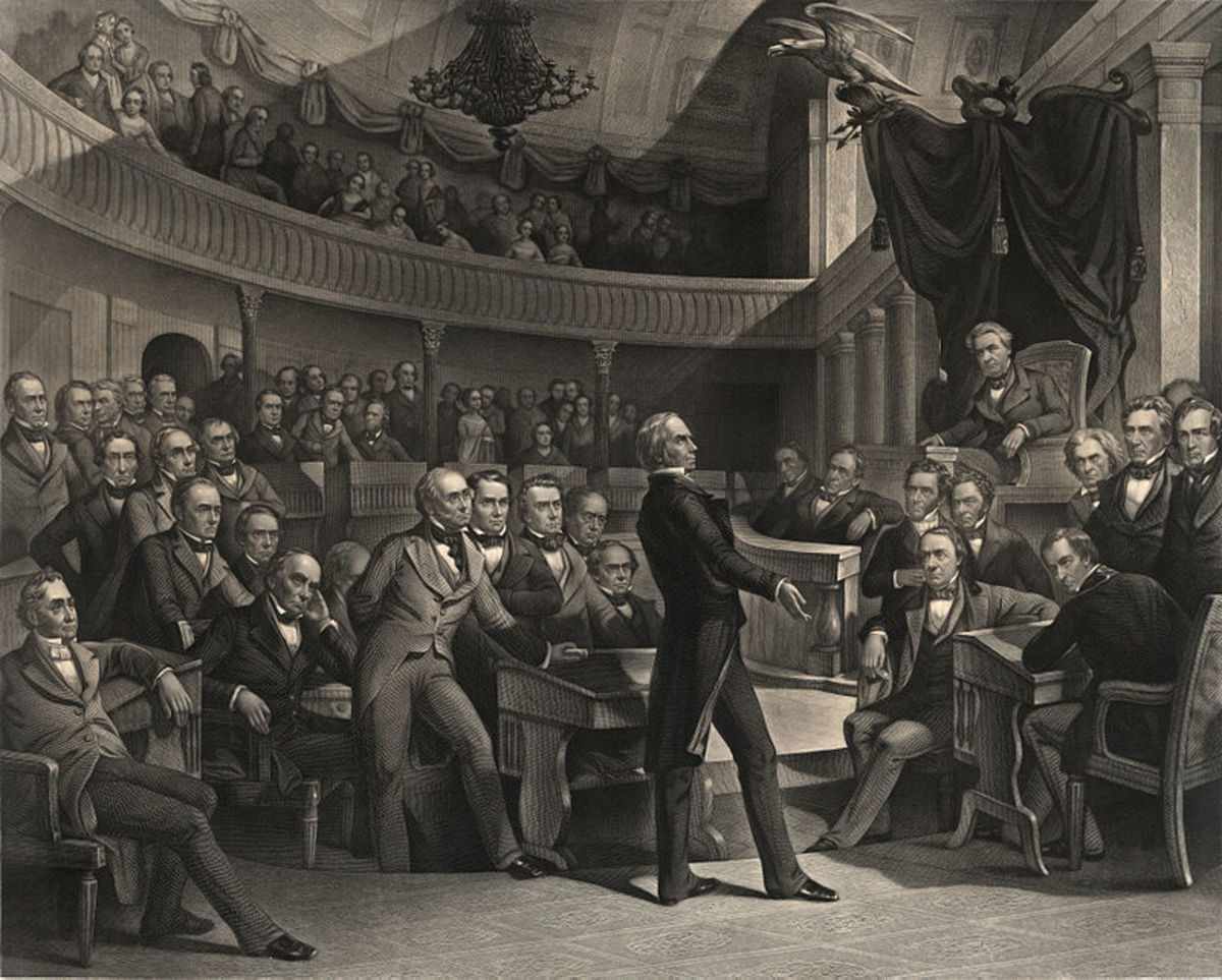 Henry Clay speaking about The Compromise of 1850 on the Senate Floor