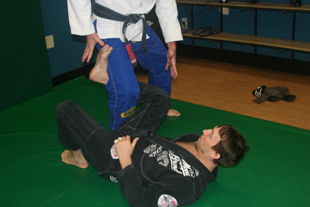 Leglocks From the Top of Reverse De La Riva Guard - a BJJ Tutorial