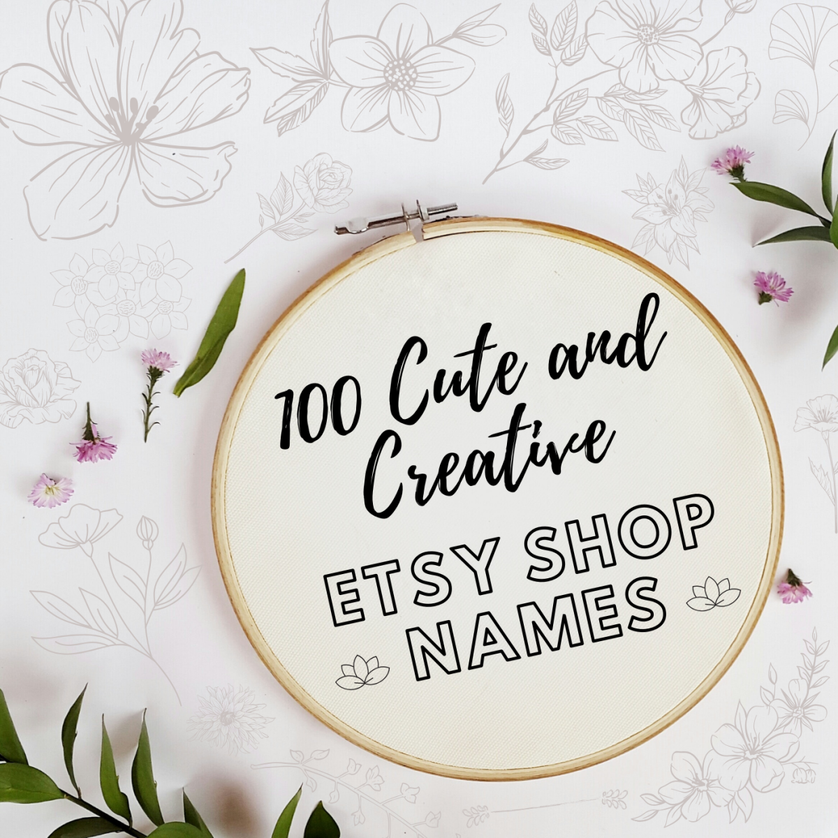 Ready to start your own Etsy shop and sell your crafts online? The first thing you'll need is a cute, catchy, and memorable name.