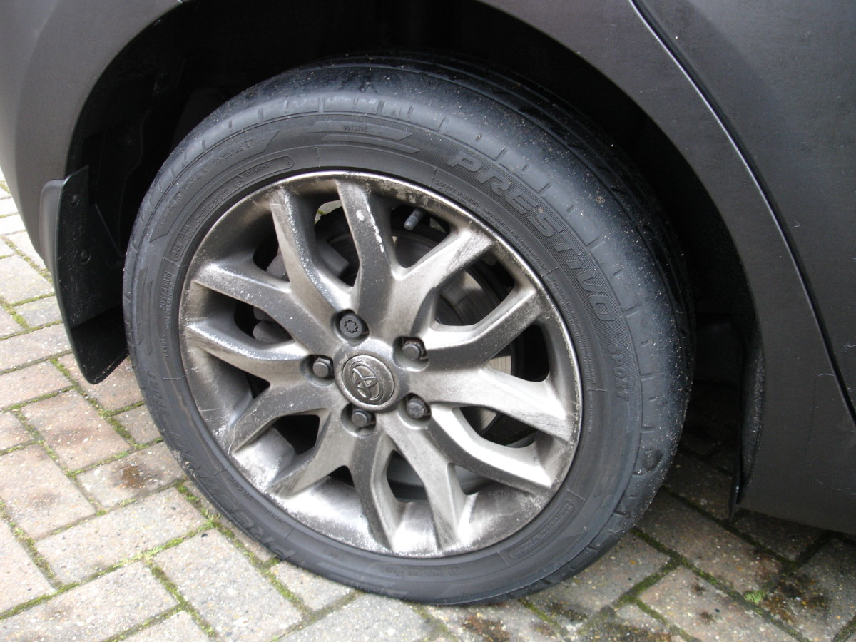 Flat rear tyre on my Toyota!