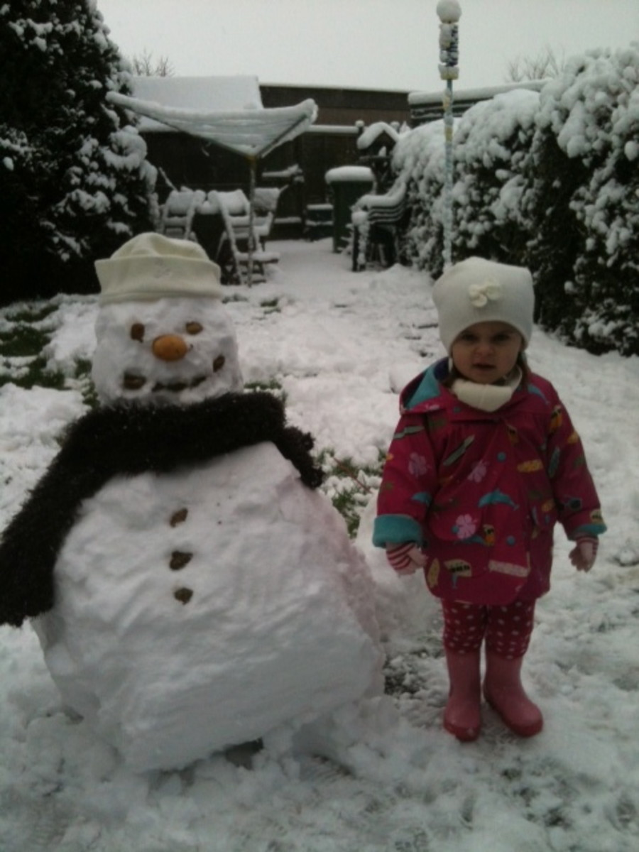Winter - for Snowmen & Children!