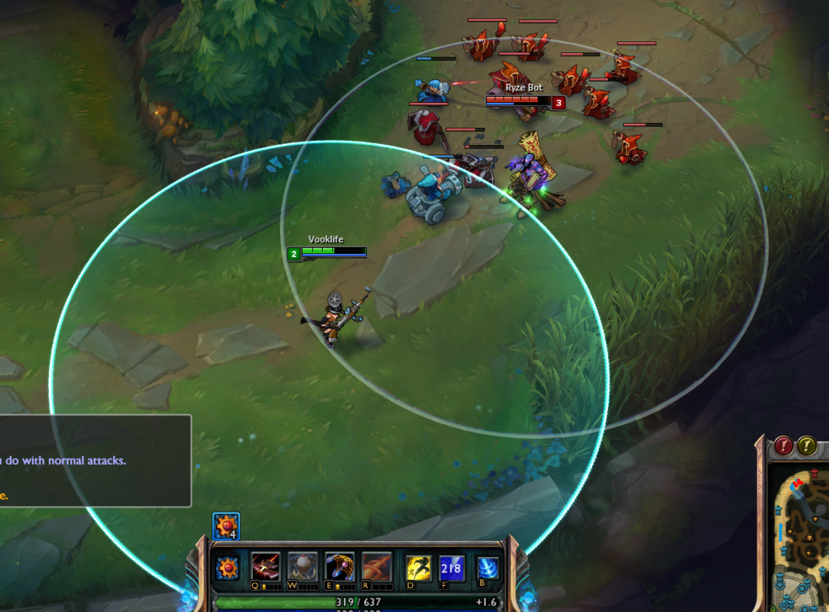 """League of Legends"" Tutorial: Spacing"
