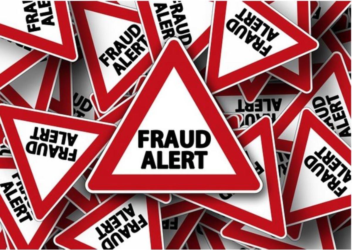 Fraud alert!
