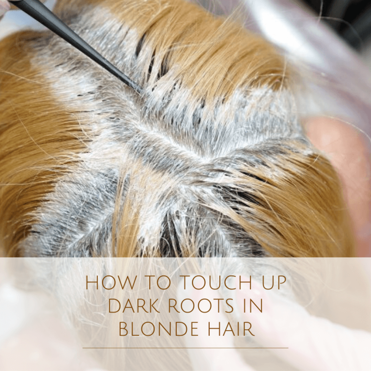 How to Touch-Up Dark Roots in Blonde Hair