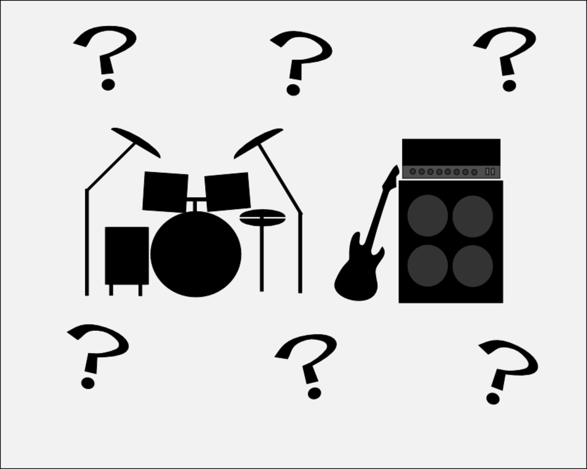 Guitar or drums: Which will you choose?