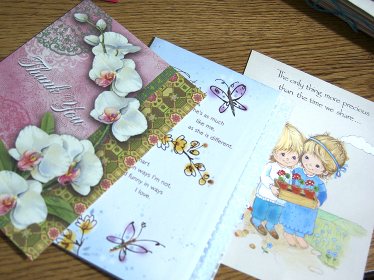 The Lost Art of Sending Cards--Ecards vs Paper Cards