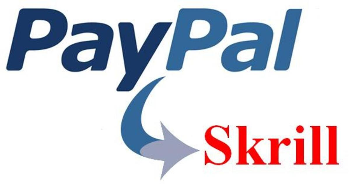 moneybookers to paypal