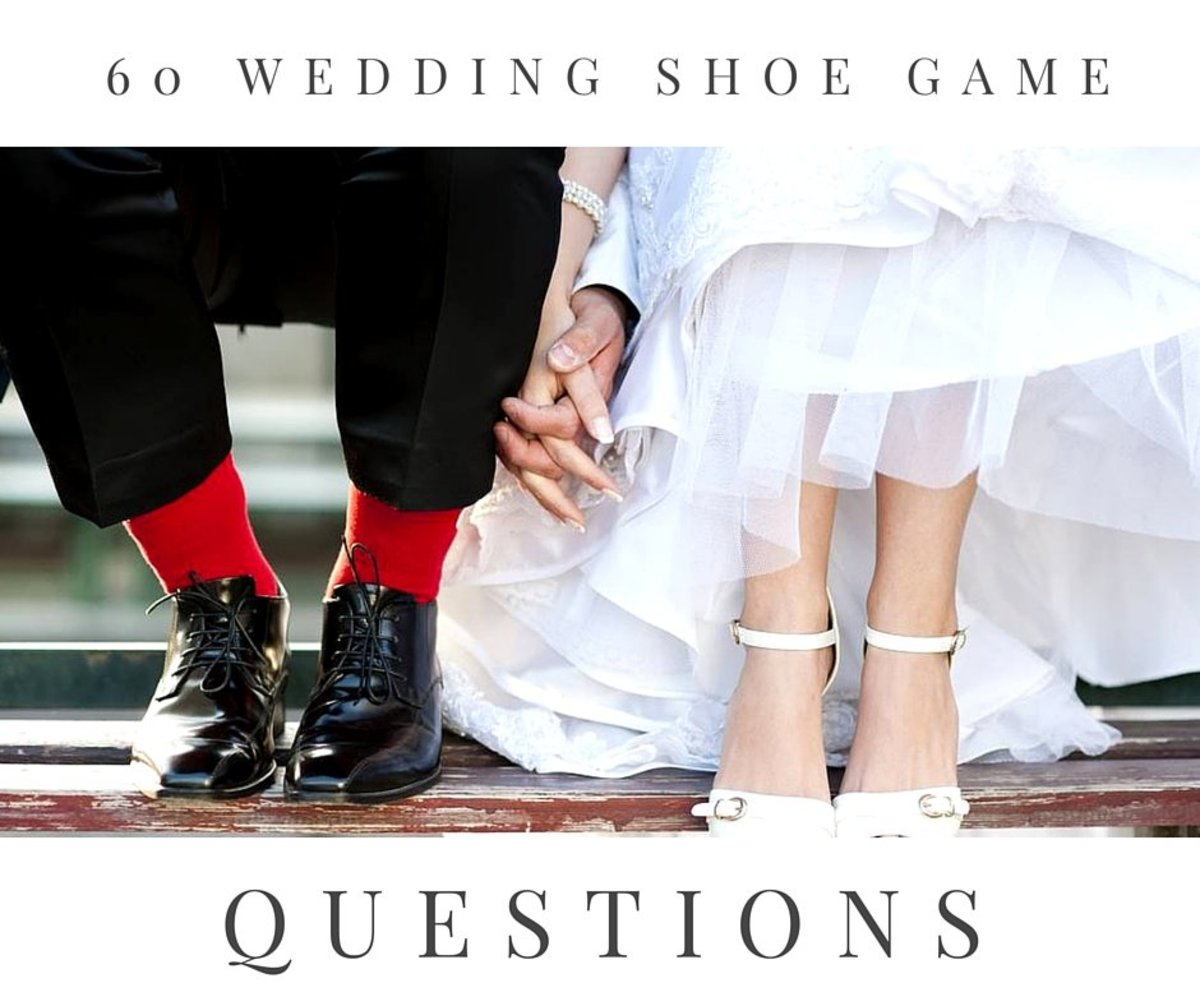 60 Wedding Shoe Game Questions