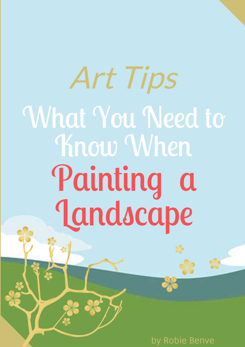 A list of eight practical and helpful tips to help you improve your landscape paintings. Great for beginner artists, but also useful to those that have been painting for a while.