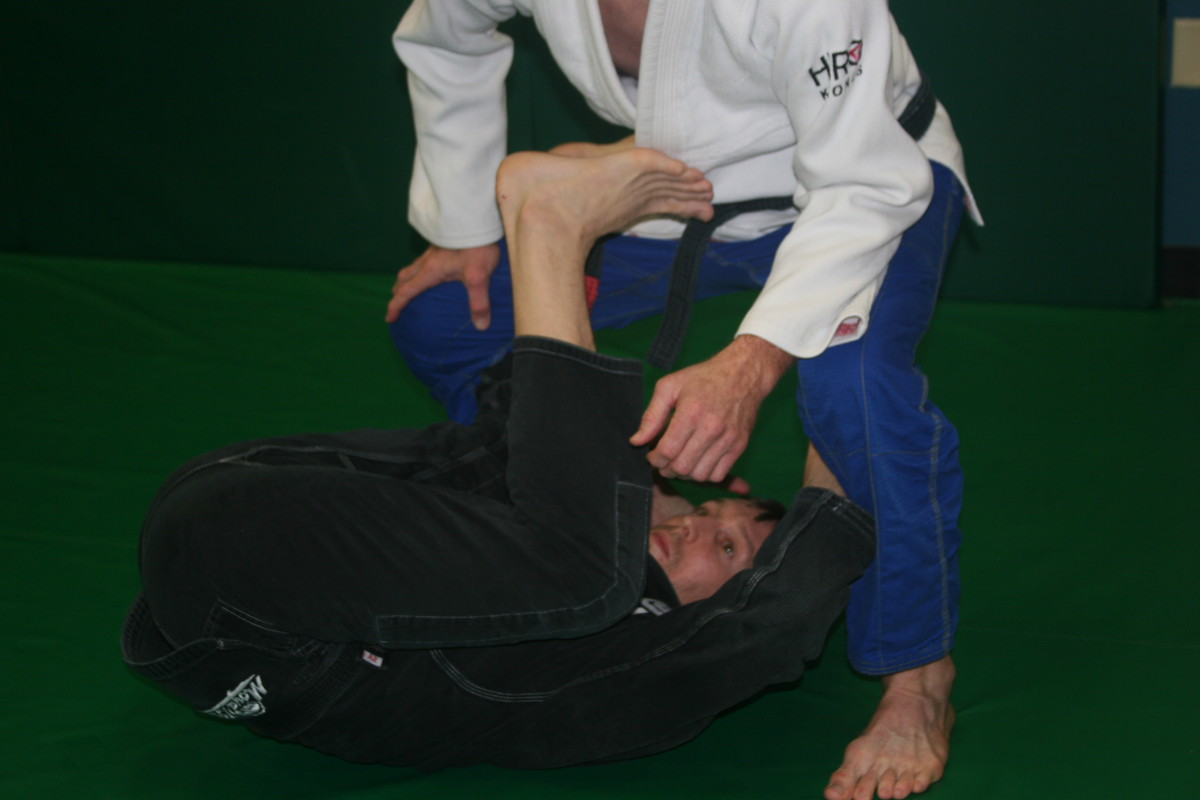 Basic Guard Maintenance Drills:  a BJJ Tutorial