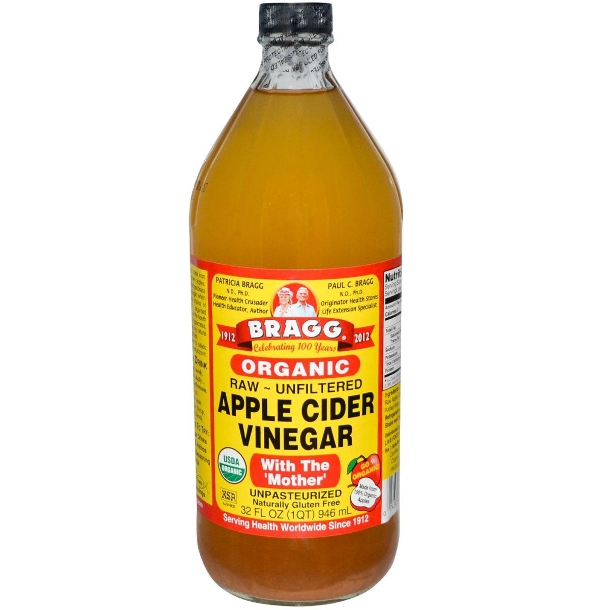 Apple cider vinegar is tummy-friendly