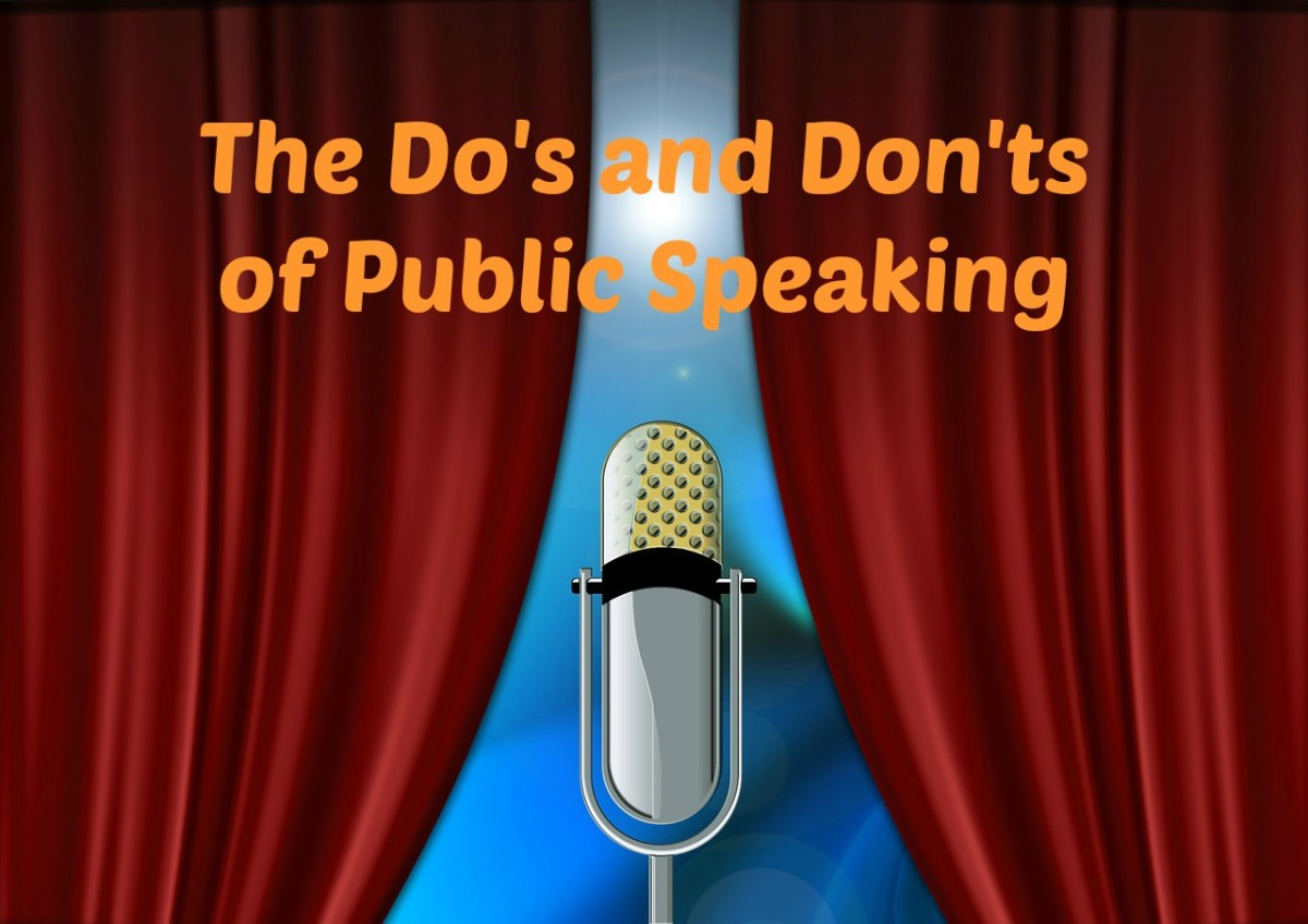 Follow these do's and don'ts tips to give a speech like a pro.