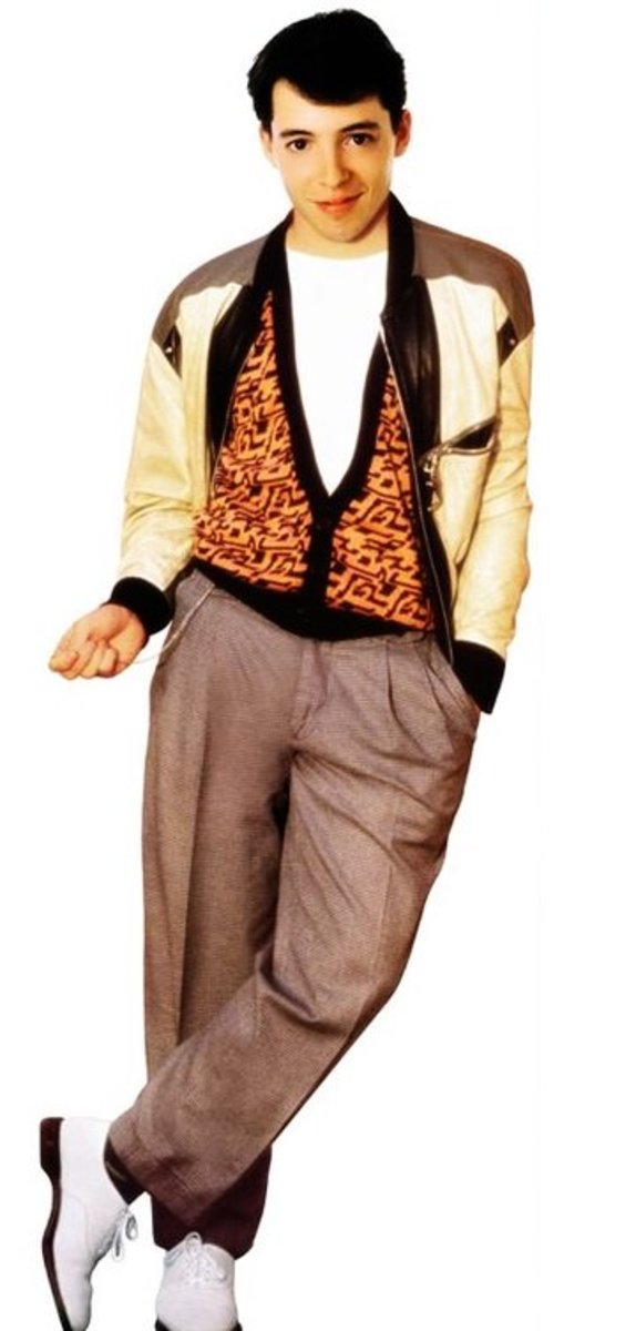 Anyone can have a day off dressed like Ferris Bueller.