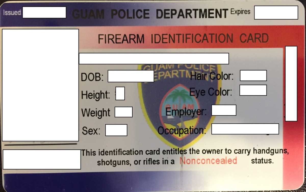 How to Get a Firearms ID Card/License in Guam