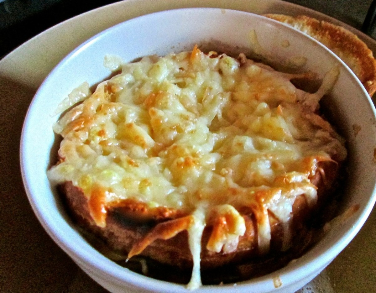 French Onion Soup Recipe (A Dinner Recipe for Two)