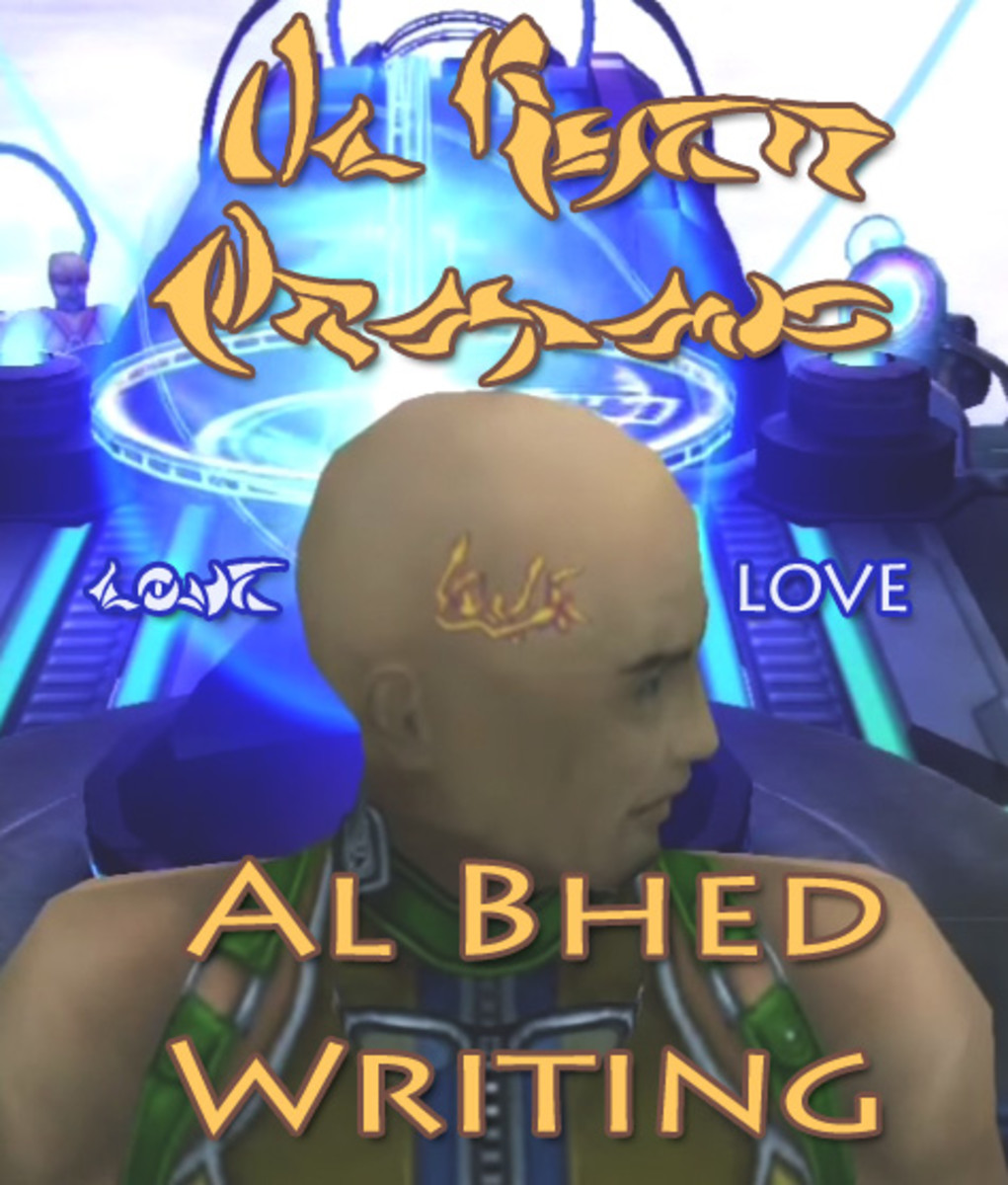Al Bhed Writing and Signs in