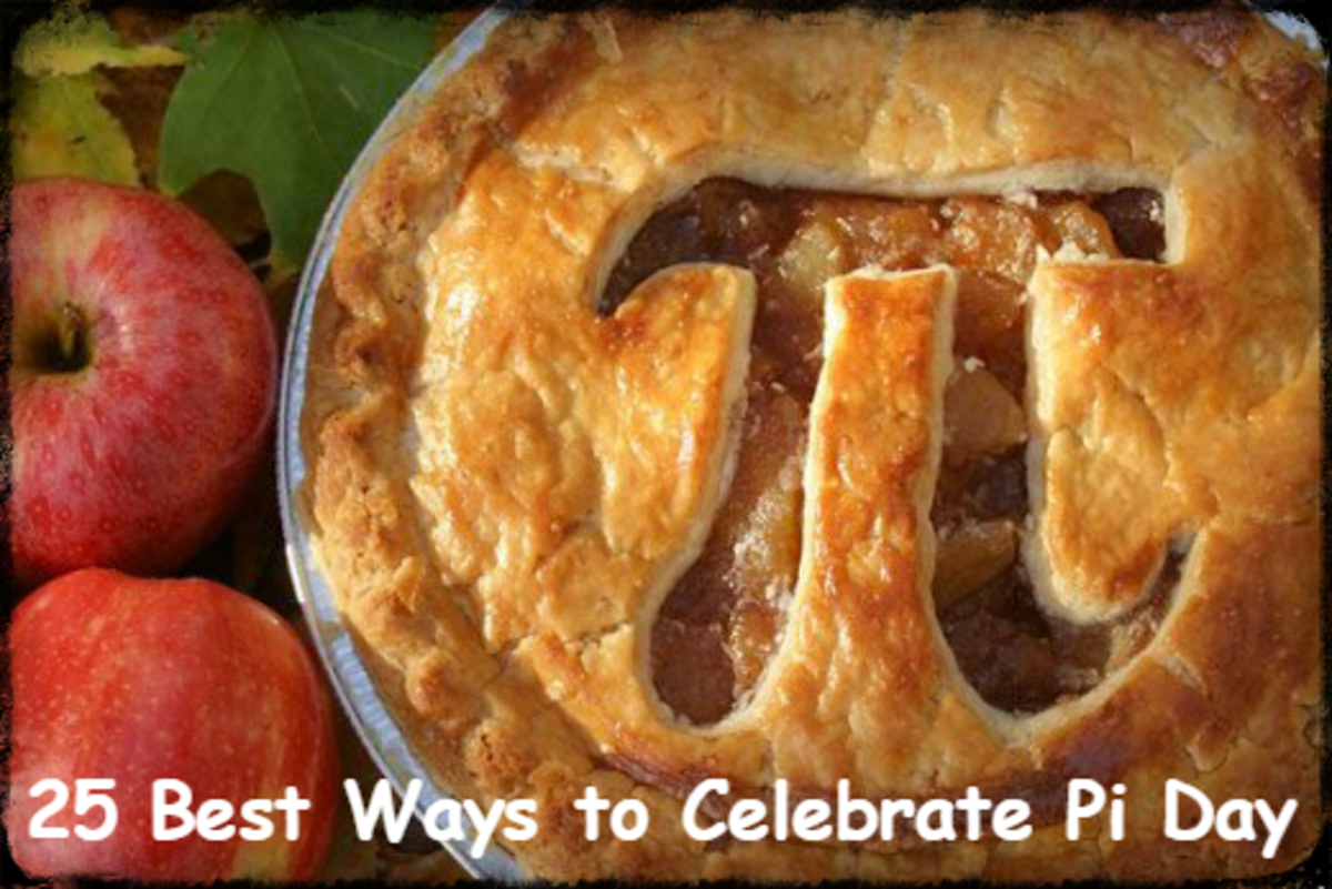Pi Day is March 14.  It's also Albert Einstein's birthday.  What a cosmic coincidence!  Let us help you celebrate the day in style.  We'll give you 25 ideas to start you off!