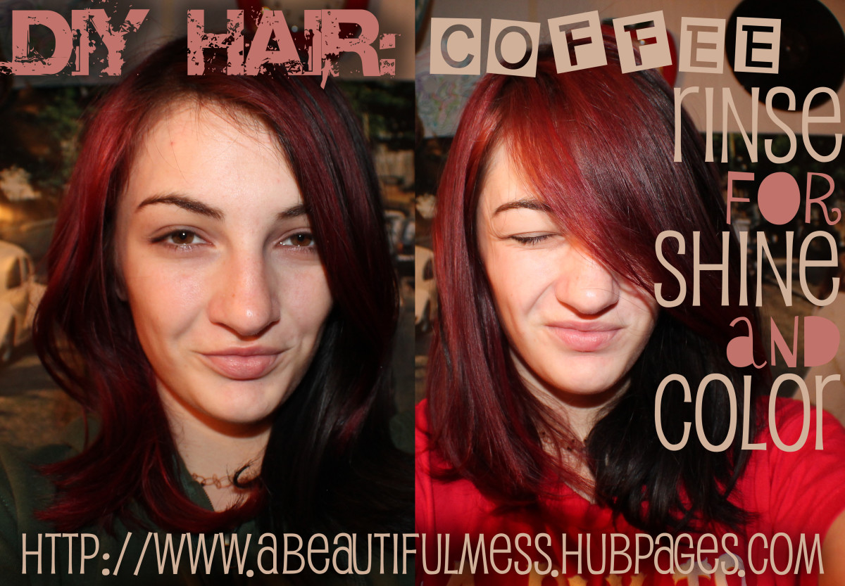DIY Hair: Coffee Rinse for Shine and Color