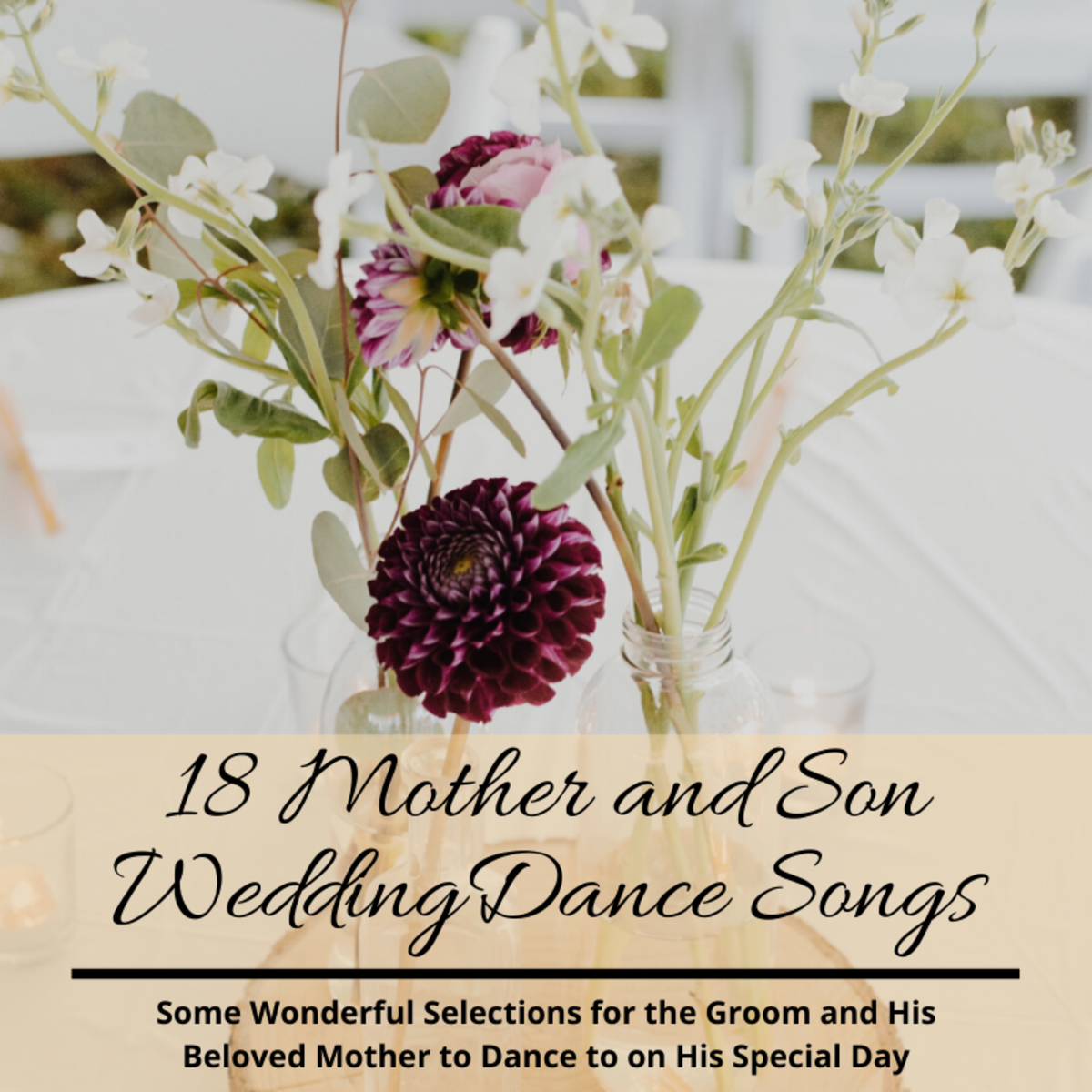 Good Mother Son Dance Songs: The 18 Best Mother-and-Son Wedding Dance Songs