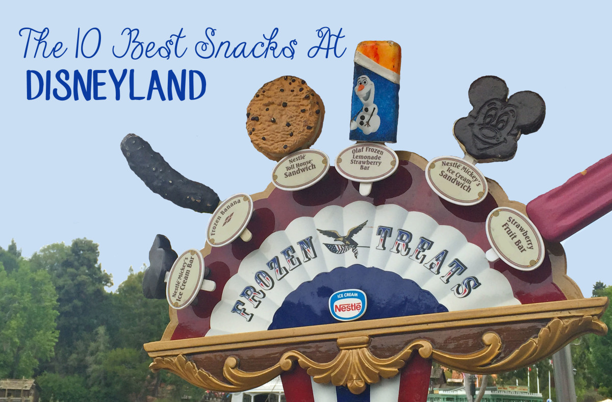 The 10 Best Snacks At Disneyland