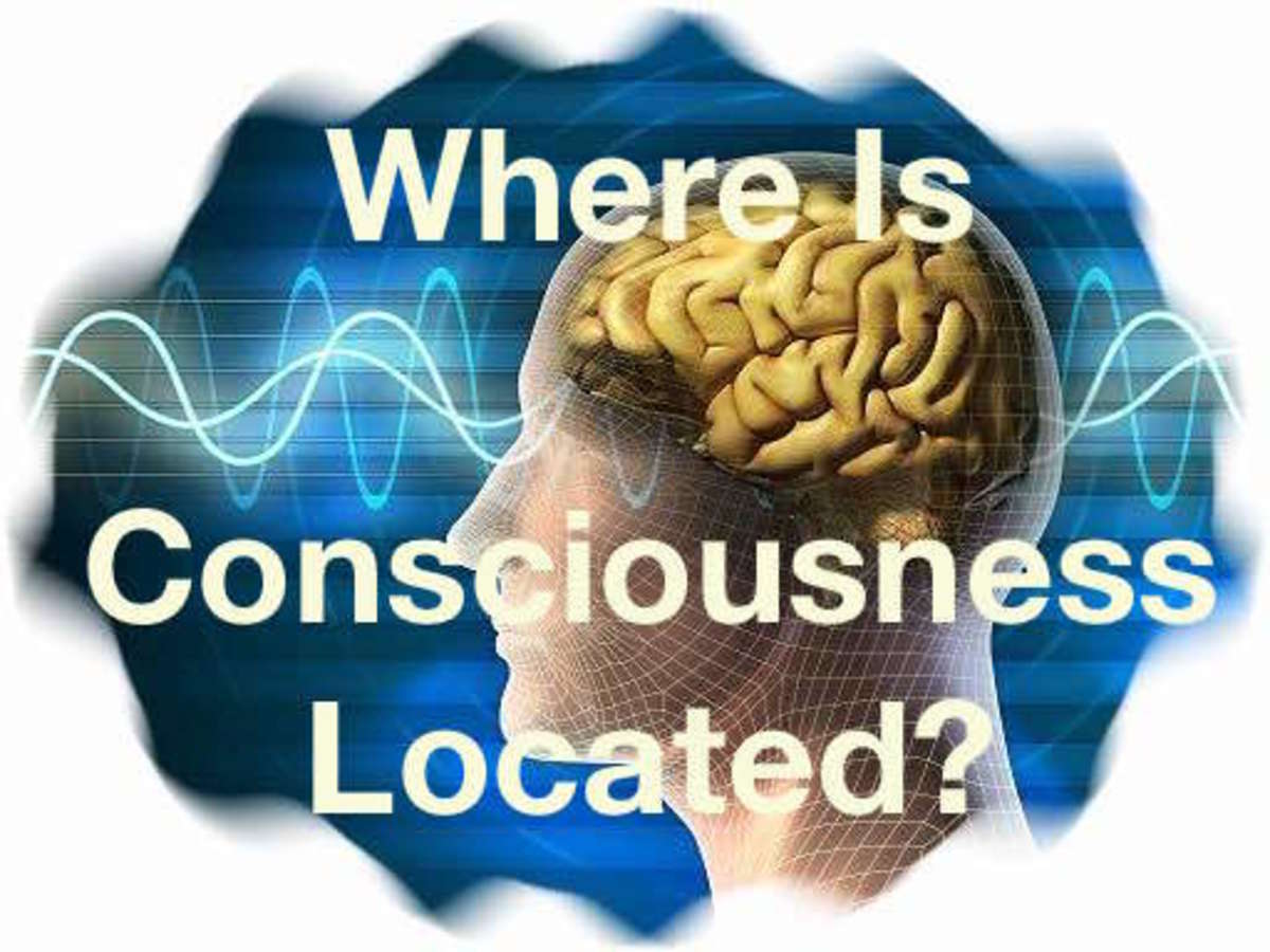 Is consciousness located in our brain or can it exist elsewhere after we die?
