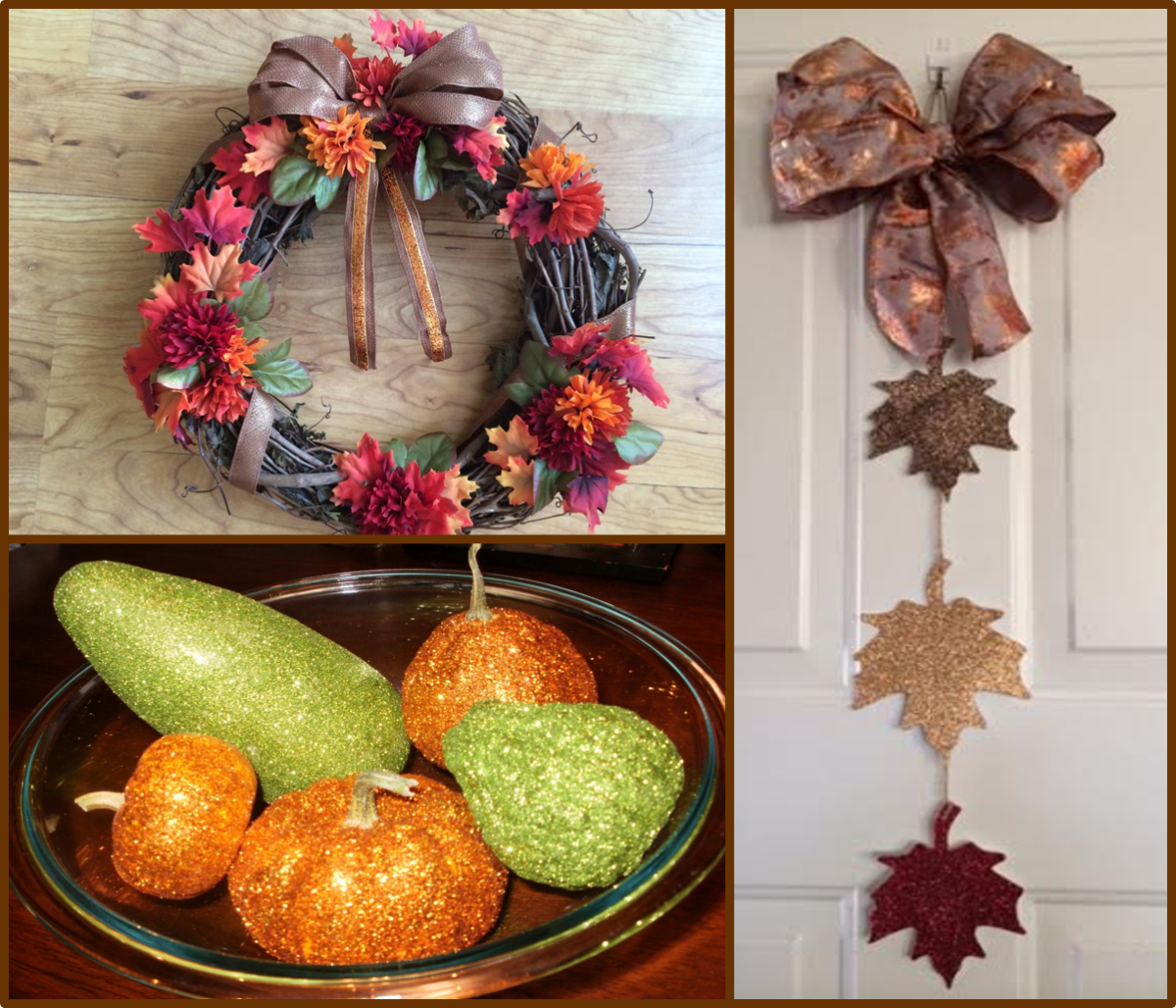 3 easy fall craft ideas