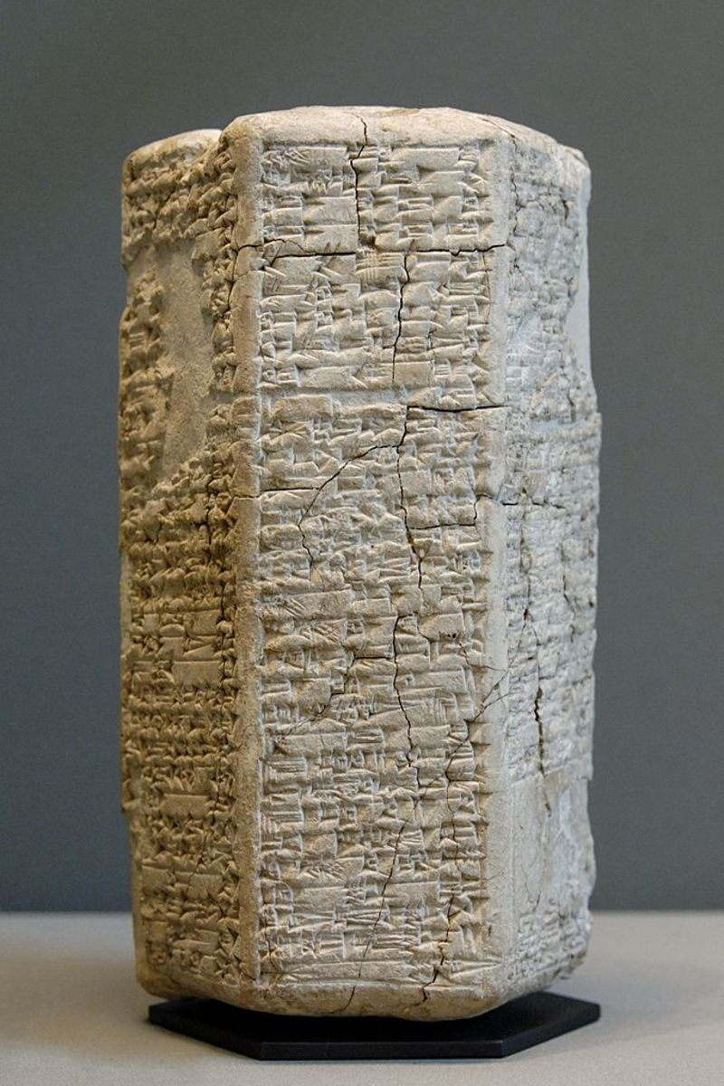 Ancient Sumerian Cuneiform