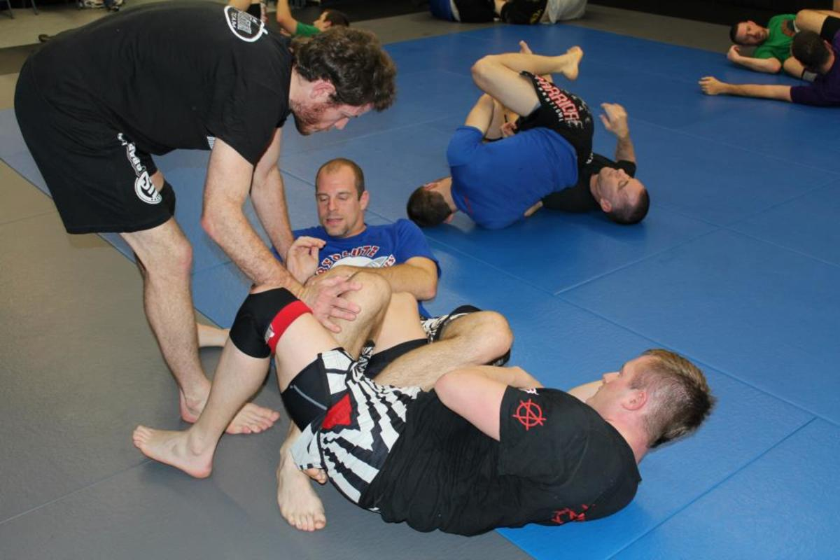 Andrew Smith Teaching Leglocks