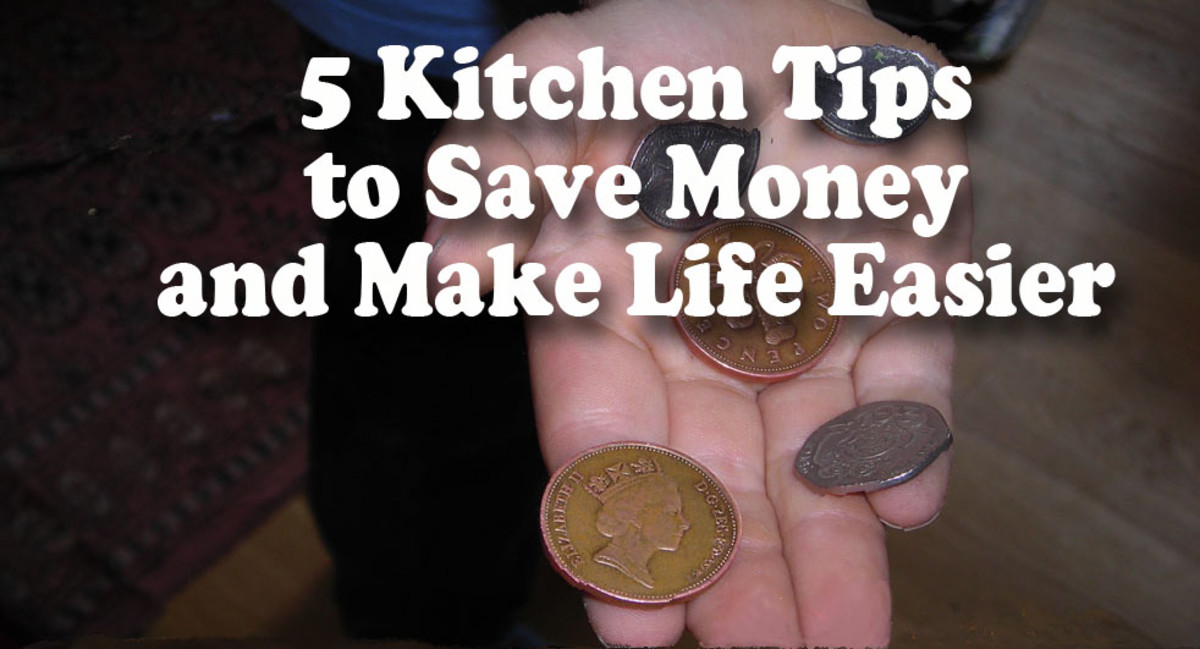 5 Kitchen Tips to Save Money and Make Life Easier
