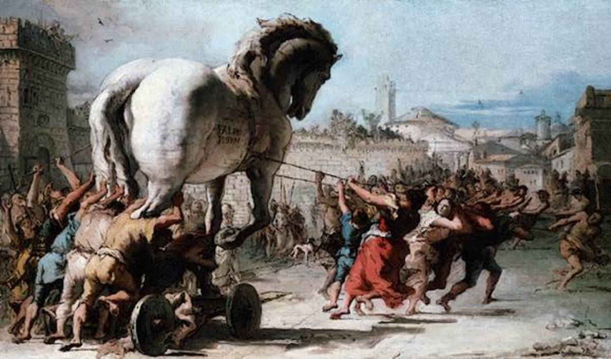The Wooden Horse in Greek Mythology