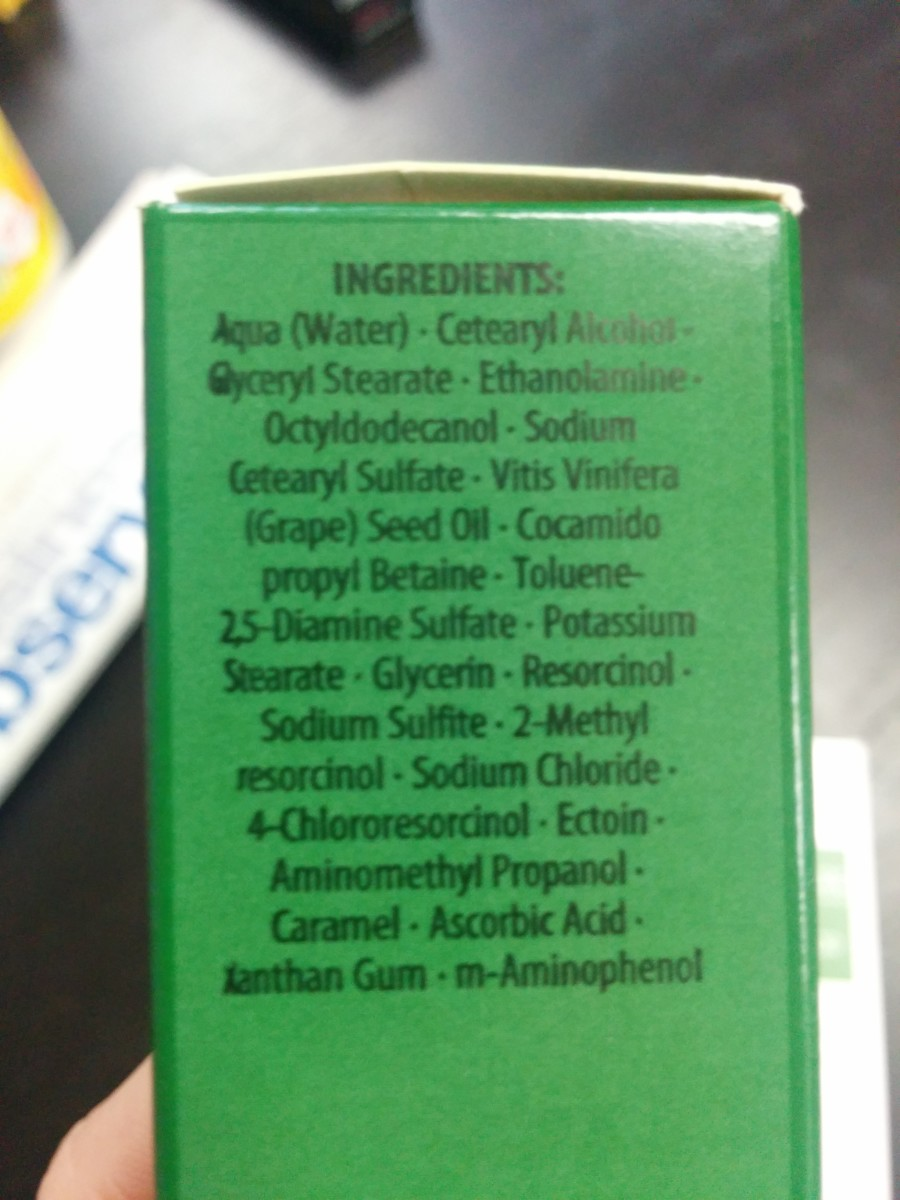 Schwarzkopf Essensity Ingredient List