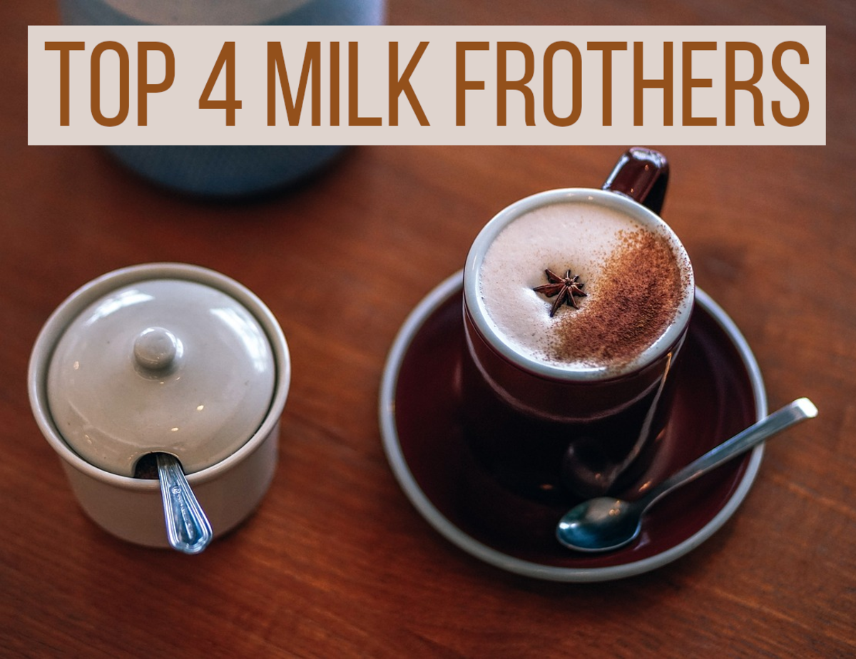 If you are looking for the top 4 handheld and electric milk frothers, read on for my recommendations...