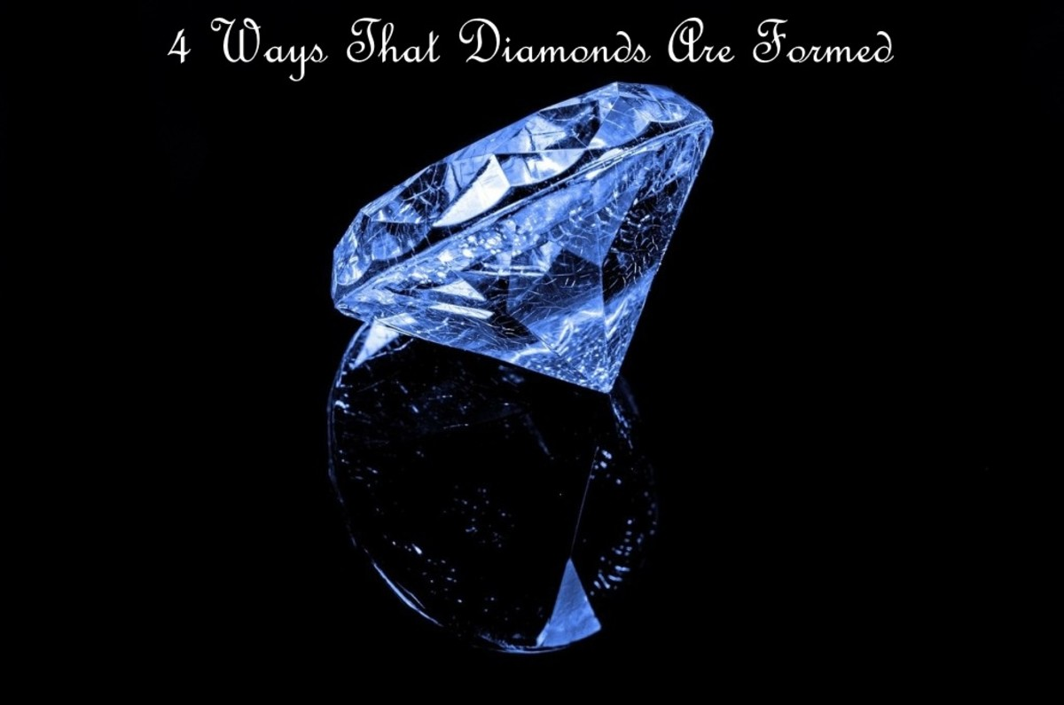 4 Ways That Diamonds are Formed