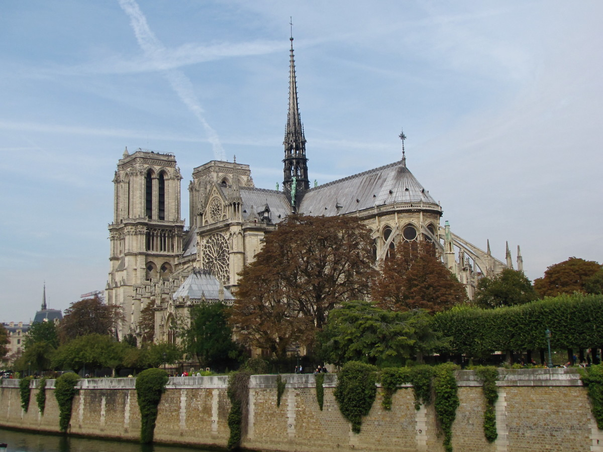Notre Dame from across the River Seine