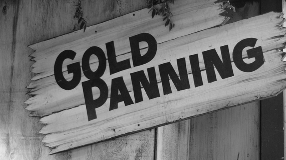 Panning for Gold In Your Backyard