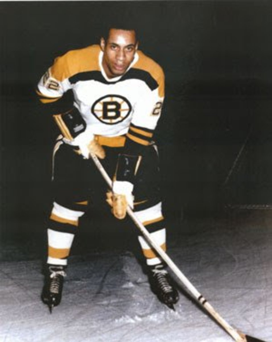 Willie O'Ree in 1961.