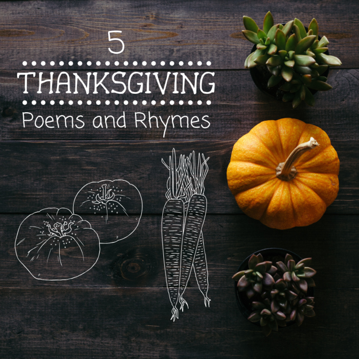 Poems are a great way to add some creativity and expression to your Thanksgiving celebration.