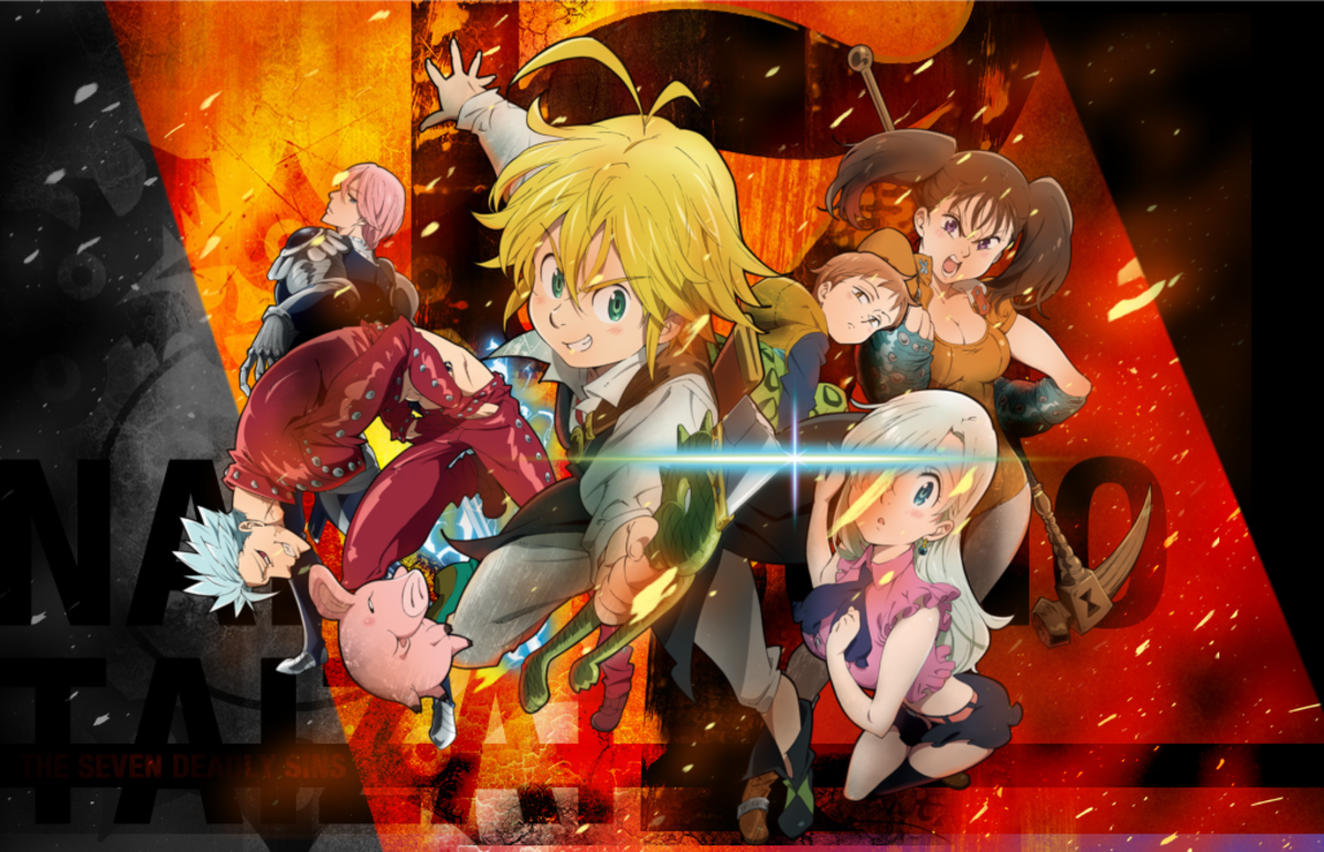 7 Anime Like 'Nanatsu no Taizai' ('The Seven Deadly Sins')