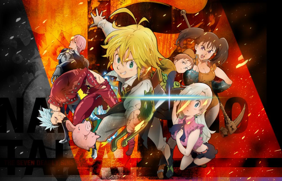 7 Anime Like Nanatsu No Taizai The Seven Deadly Sins