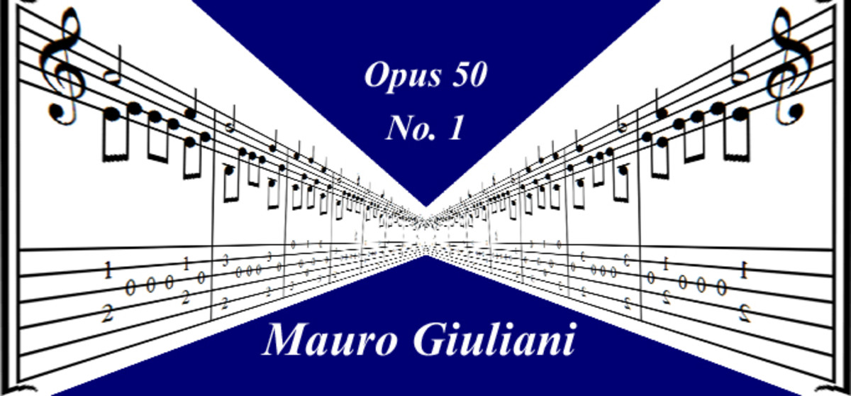 Easy Classical Guitar: Giuliani Opus 50 No.1 in Standard Notation and Tab with Audio