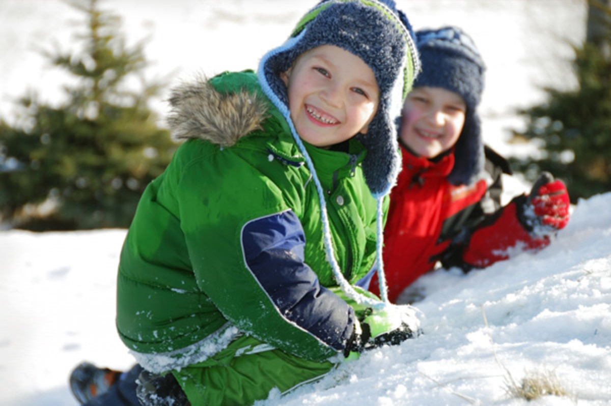 Learn how to bundle kids up for the winter.