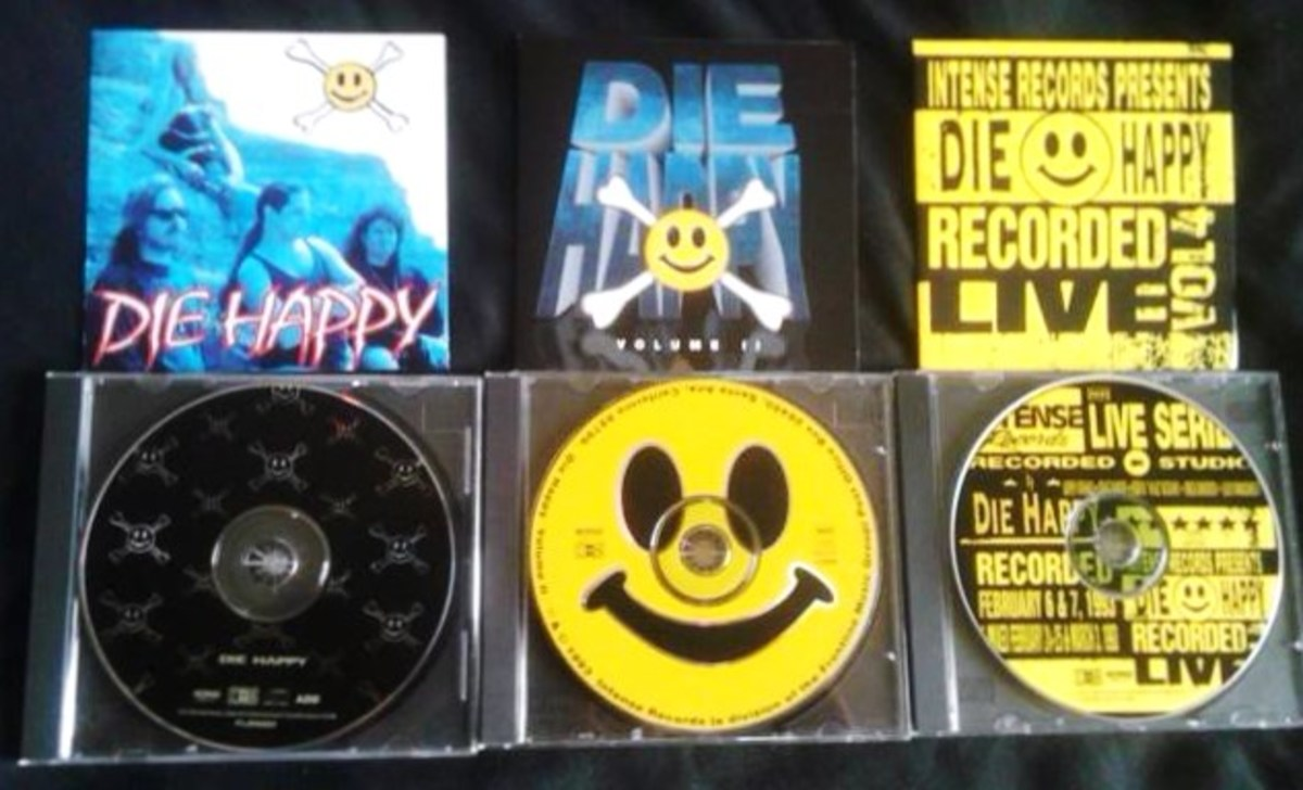 Forgotten Hard Rock Albums: The DIE HAPPY Discography
