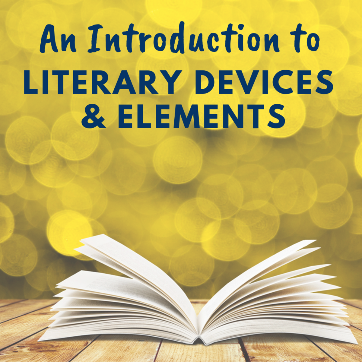 An Introduction to Creative Writing Literary Devices and Elements