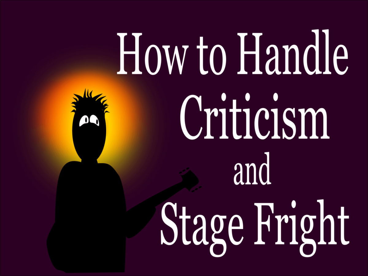 How to Handle Criticism and Avoid Stage Fright as a Guitar Player
