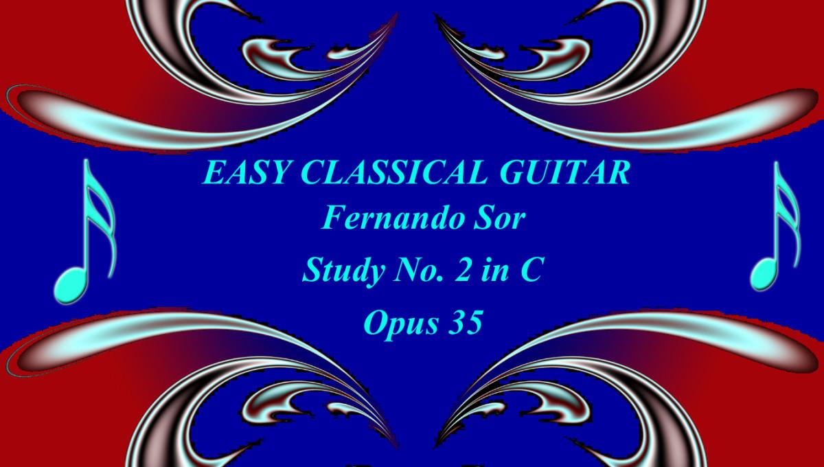 Fernando Sor - Sudy in C Opus 35 No. 2