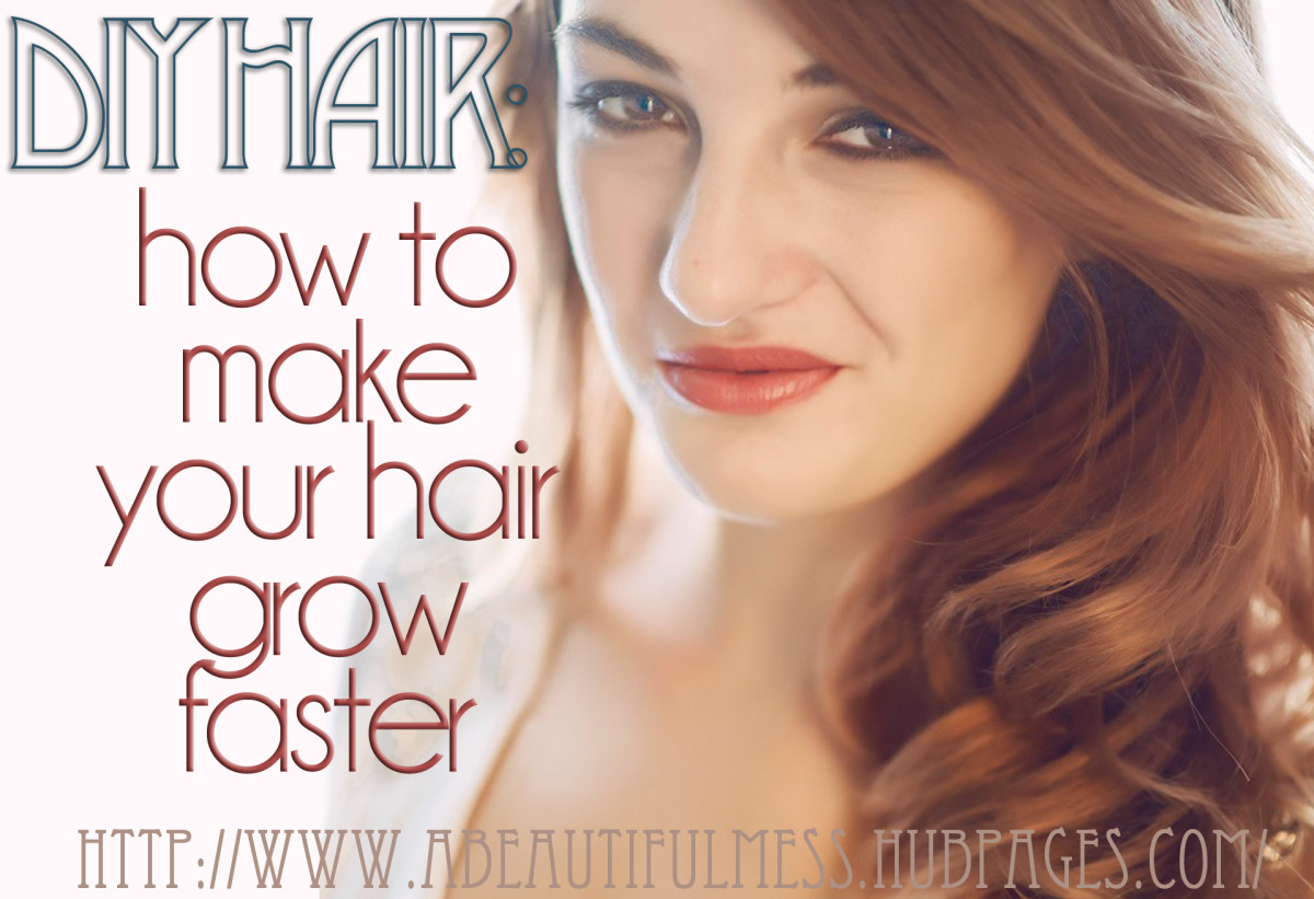 Make your hair grow faster with these five tips.