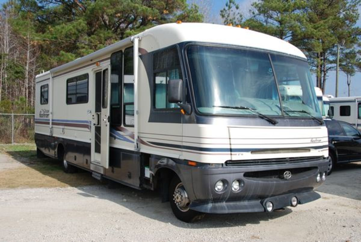 My first motorhome was a 1996 Pace Arrow Vision. It was a great first motorhome that I learned a lot of things about owning an RV.