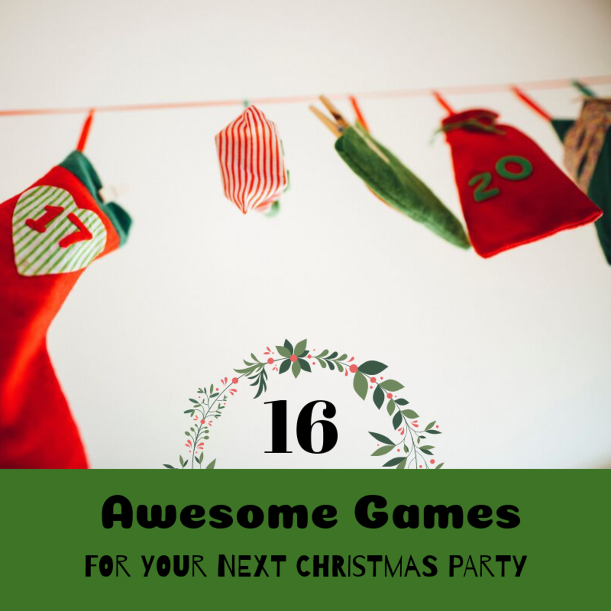 Holiday games are a great way to liven up any Christmas party. Some of these games are great for kids and families, and others are perfect for adults and office parties.