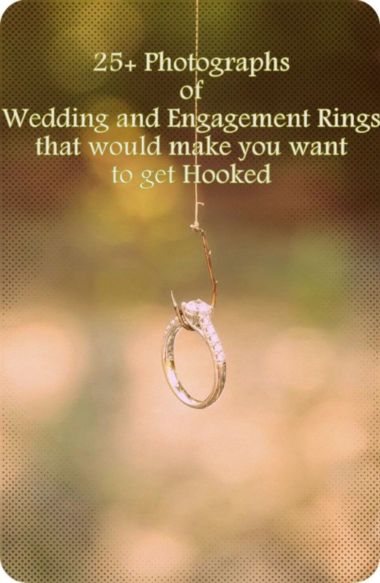 Photography Ideas: 25+ Photos of Engagement and Wedding Rings
