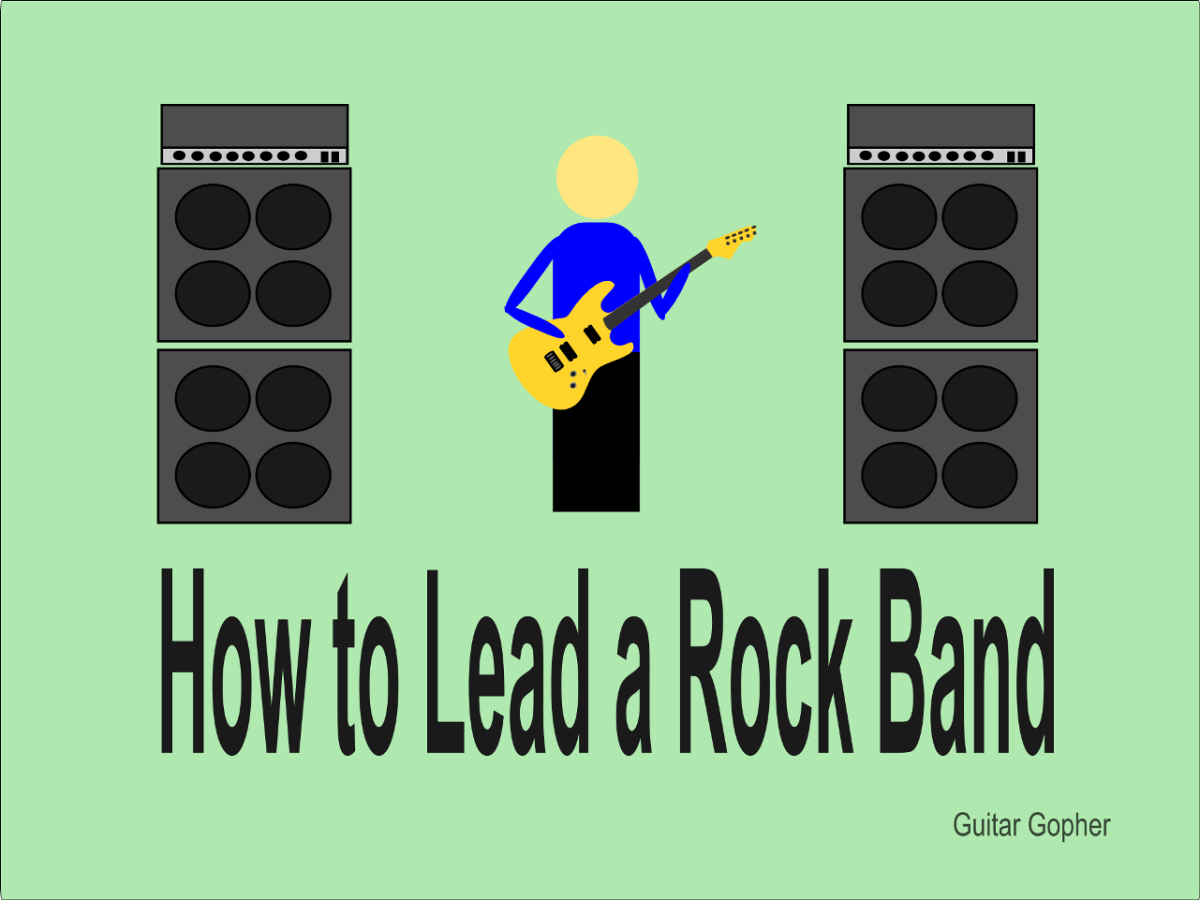 The role of band leader comes with a lot of hard work in the job description.